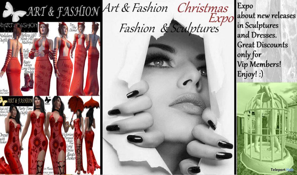 Christmas Expo 2019 by Art & Fashion - Teleport Hub - teleporthub.com