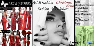 Christmas Expo 2019 by Art & Fashion - Teleport Hub - teleporthub.com