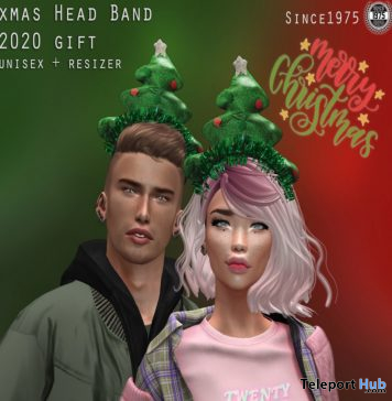 Xmas Head Band 2020 Unisex December 2019 Group Gift by [Since 1975] - Teleport Hub - teleporthub.com