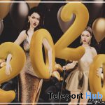Happy New Year 2020 Pose December 2019 Group Gift by AnaLog. - Teleport Hub - teleporthub.com