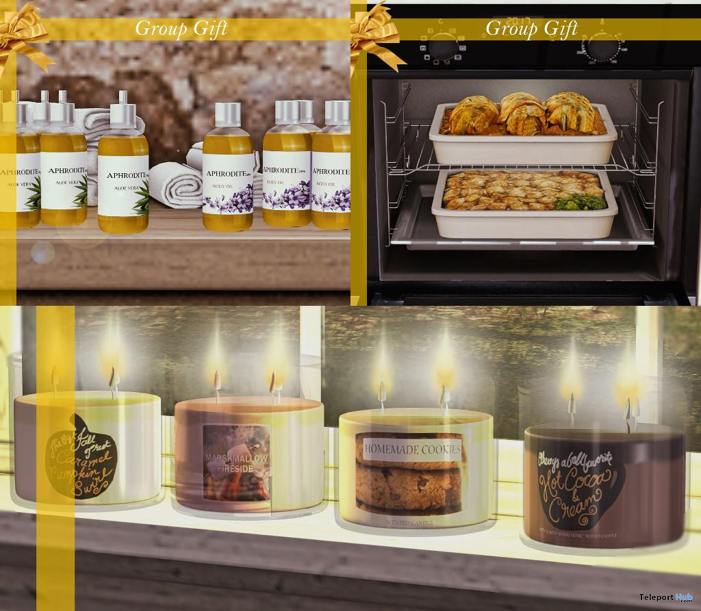 Body Oil, Hearty Casseroles, & Succulents Cups December 2019 Group Gift by Aphrodite Shop - Teleport Hub - teleporthub.com