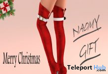 Naomi Boots December 2019 Group Gift by VeNuS Shoes - Teleport Hub - teleporthub.com