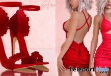 Blume Heels & Samira Dress Christmas 2019 Group Gift by Safira - Teleport Hub - teleporthub.com