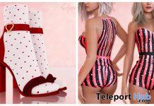 Dana Bodysuit & Lola Heels Xmas Christmas 2019 Group Gift by Safira - Teleport Hub - teleporthub.com