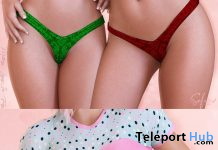 Cute Top & Xmas Panties Christmas 2019 Group Gift by Safira - Teleport Hub - teleporthub.com