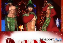Santa's Son Outfit & Bunny XMas High Heels December 2019 Group Gift by SensualErotikXtore - Teleport Hub - teleporthub.com