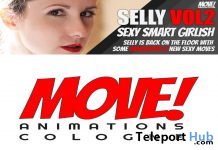 New Release: Selly Vol 2 Bento Dance Pack by MOVE! Animations Cologne - Teleport Hub - teleporthub.com
