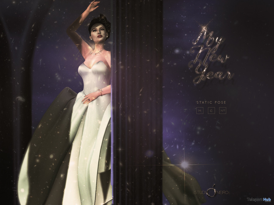 My New Year Pose December 2019 Gift by StudiOneiro - Teleport Hub - teleporthub.com