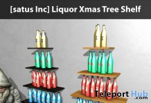 New Release: Liquor Xmas Tree Shelf by [satus Inc] - Teleport Hub - teleporthub.com