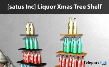 New Release: Liquor Xmas Tree Shelf by [satus Inc] - Teleport Hub - teleporthub.com