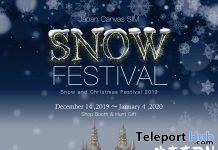 Snow Festival in Japan Canvas & Hunt 2019 - Teleport Hub - teleporthub.com