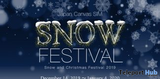 Snow Festival in Japan Canvas & Hunt 2019 - Teleport Hub - teleporthub.com
