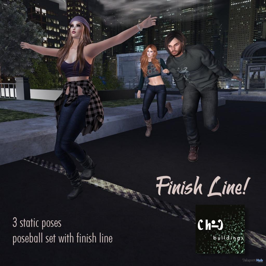 Finish Line Poseball Set January 2020 Gift by ChiC buildings - Teleport Hub - teleporthub.com