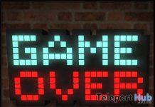 Game Over Sign January 2020 Subscriber Gift by [Krescendo] - Teleport Hub - teleporthub.com