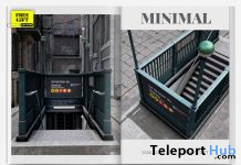Subway Entrance January 2020 Group Gift by MINIMAL - Teleport Hub - teleporthub.com