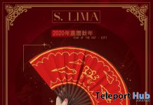 Year of The Rat Hand Fan The Level Event January 2020 Gift by S. Lima - Teleport Hub - teleporthub.com