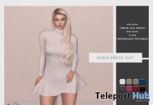 Rubia Dress Fatpack January 2020 Group Gift by [WellMade] - Teleport Hub - teleporthub.com