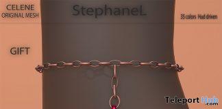 Celene Anklet January 2020 Group Gift by StephaneL - Teleport Hub - teleporthub.com
