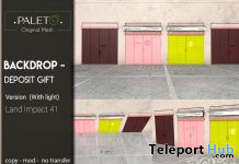 Deposit Backdrop January 2020 Group Gift by PALETO - Teleport Hub - teleporthub.com
