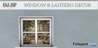Window & Lantern Decor January 2020 Group Gift by Shutter Field - Teleport Hub - teleporthub.com