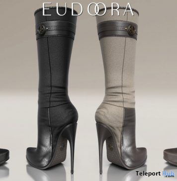Patent Boots January 2020 Group Gift by Eudora3D - Teleport Hub - teleporthub.com