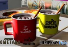Hot Chocolate January 2020 Gift by Chubee Monster x Cometaro - Teleport Hub - teleporthub.com