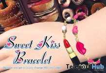 Sweet Kiss Bracelet January 2020 Group Gift by MINDS - Teleport Hub - teleporthub.com