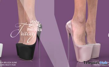 New Release: Tracey Heels by Phedora @ Collabor88 January 2020 - Teleport Hub - teleporthub.com