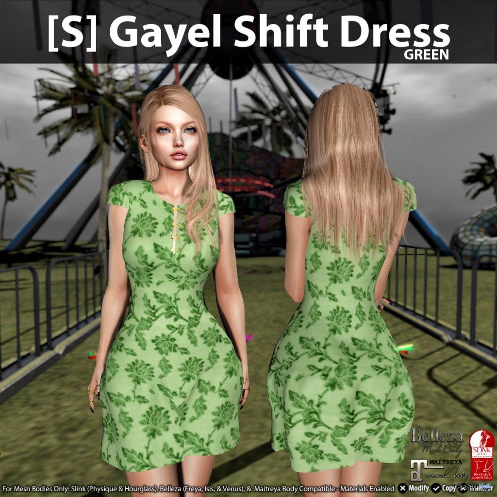New Release: [S] Gayel Shift Dress by [satus Inc] - Teleport Hub - teleporthub.com