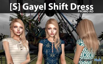 New Release: [S] Gayel Shift Dress by [satus Inc] - Teleport Hub - teleporthub.com