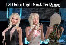 New Release: [S] Helia High Neck Tie Dress by [satus Inc] - Teleport Hub - teleporthub.com