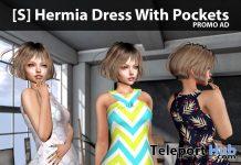 New Release: [S] Hermia Dress With Pockets by [satus Inc] - Teleport Hub - teleporthub.com