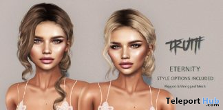 Eternity Hair Fatpack With Style HUD Group Gift by TRUTH HAIR - Teleport Hub - teleporthub.com