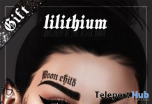 Moon Child Face Tattoo February 2020 Gift by Lilithium - Teleport Hub - teleporthub.com