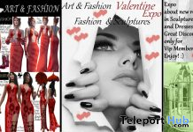 Valentine Expo by Art & Fashion 2020 - Teleport Hub - teleporthub.com