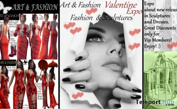 Valentine Expo by Art & Fashion 2020 - Teleport Hub - teleporthub.com