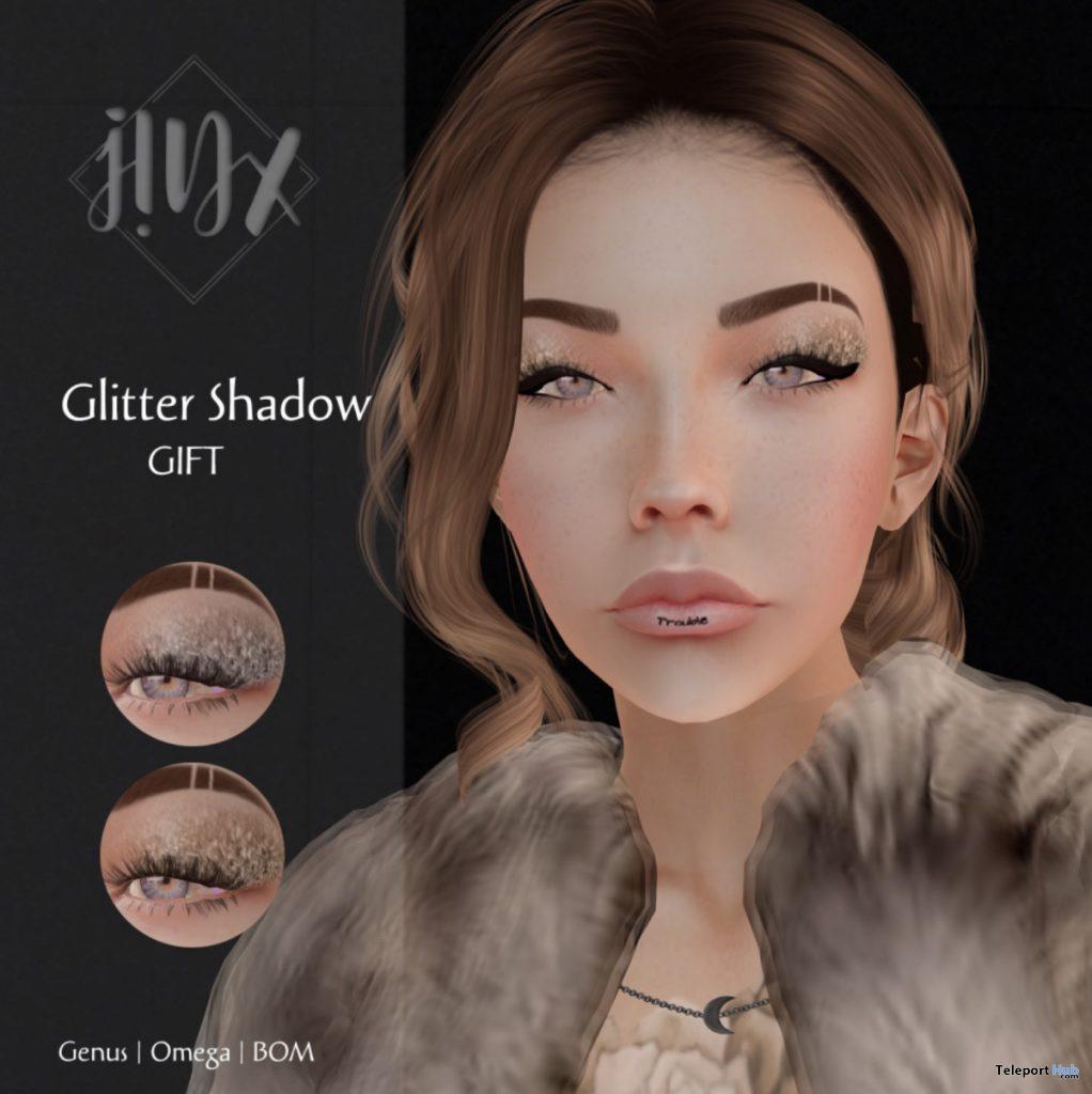 Glitter Shadow January 2020 Group Gift by KUMIHO x j!NX - Teleport Hub - teleporthub.com