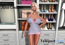 Lolas Purple Dress January 2020 1L Promo Gift by Kira Couture - Teleport Hub - teleporthub.com