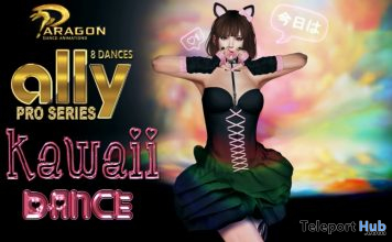 New Release: Ally Kawaii Dance Pack by Paragon Dance Animations @ Uber Event January 2020 - Teleport Hub - teleporthub.com