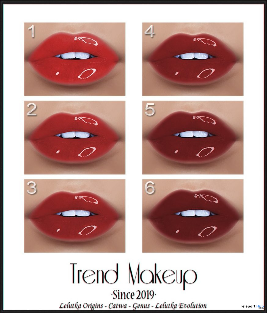 Love In The Air Lipsticks Fatpack February 2020 Group Gift by Trend Makeup - Teleport Hub - teleporthub.com
