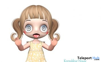 Sleeveless Dress For Chibit Avatar February 2020 Group Gift by Korpokkur House - Teleport Hub - teleporthub.com