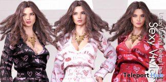 Sexy Viviana Valentines Set February 2020 Group Gift by LsR Moda - Teleport Hub - teleporthub.com