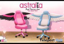 Angel Gaming Chair February 2020 Group Gift by Astralia - Teleport Hub - teleporthub.com