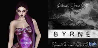 Sacred Heart Rose Dress February 2020 Group Gift by BYRNE - Teleport Hub - teleporthub.com
