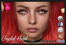 Crystal Heart Lash February 2020 Group Gift by POUT! - Teleport Hub - teleporthub.com