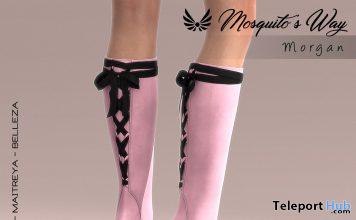Morgan Boots February 2020 Group Gift by Mosquito's Way - Teleport Hub - teleporthub.com