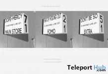 Dope Lightbox February 2020 Group Gift by Dope+Mercy - Teleport Hub - teleporthub.com