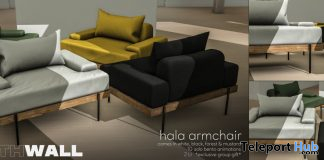 Hala Armchair February 2020 Group Gift by Fourth Wall - Teleport Hub - teleporthub.com