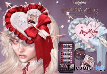 Petal Tears February 2020 Group Gift by Fika - Teleport Hub - teleporthub.com