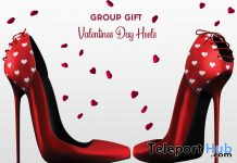 Kelly V-Day Stilettos February 2020 Group Gift by Hilly Haalan - Teleport Hub - teleporthub.com